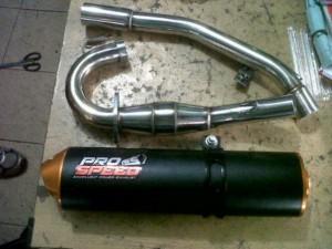 Knalpot klx 150 power boom merk pro speed 300x225 Jual Knalpot klx 150 power boom merk pro speed