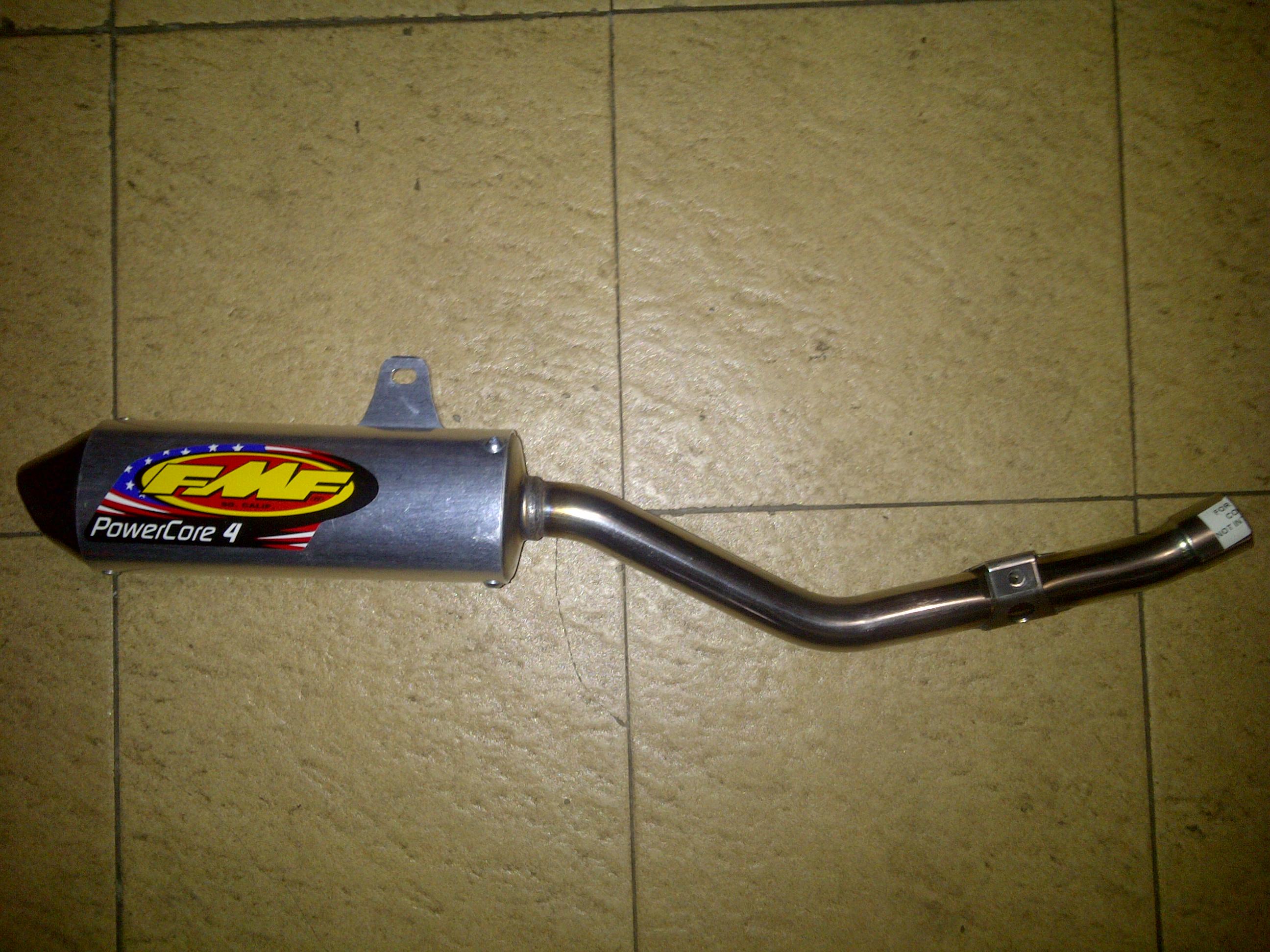 Kebon Jeruk 20130628 00524 Jual knalpot slip on merk FMF power core KLX 150