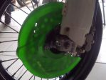 Jual disk cover klx 150 wrna hijau,htm,putih