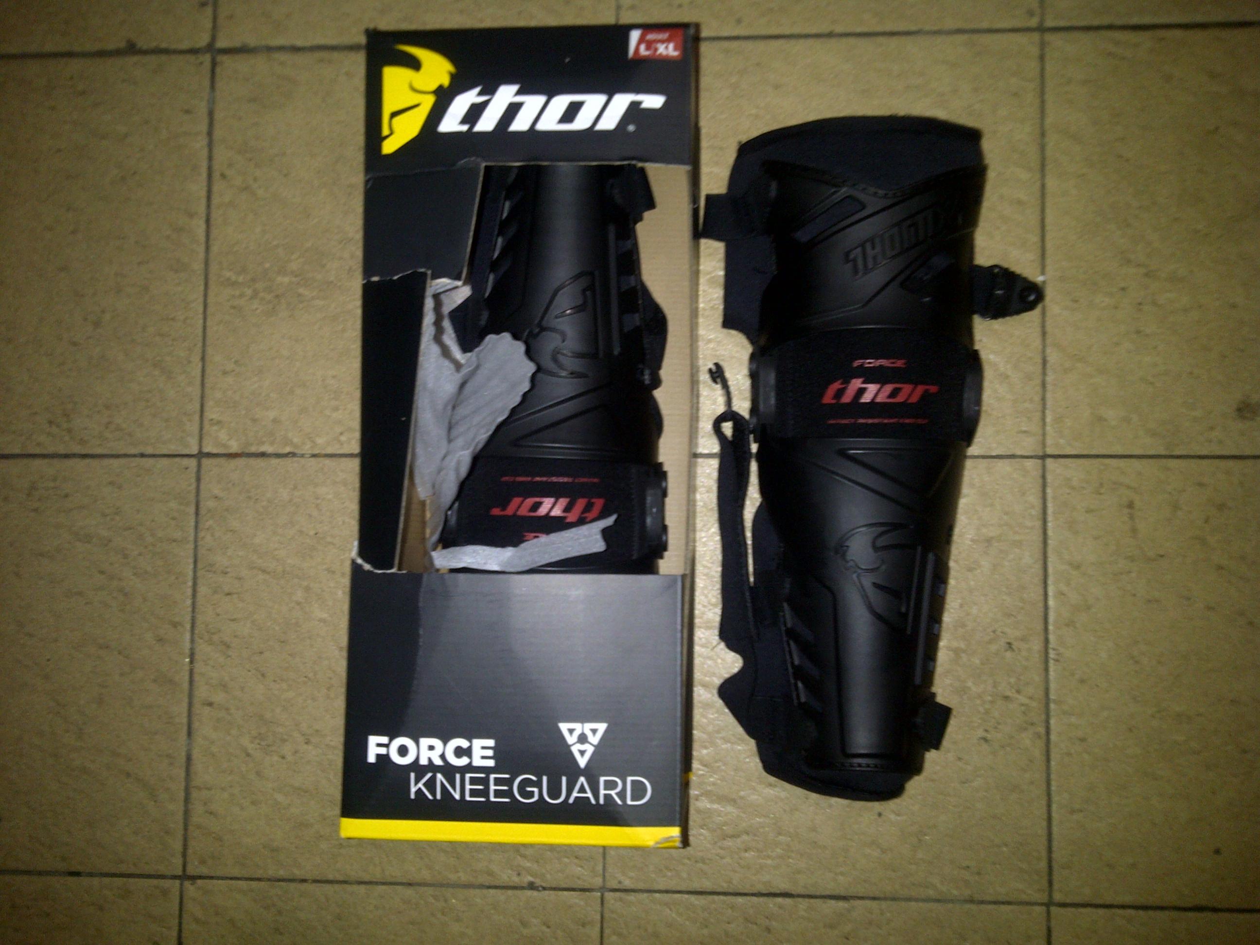 knee guard force Jual knee guard thor force