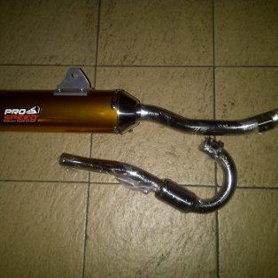 Jual knalpot CRF 230/tiger modifikasi trail merk PRO SPEED
