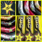 Jual handle bar merk ROCKSTAR + RESER stang