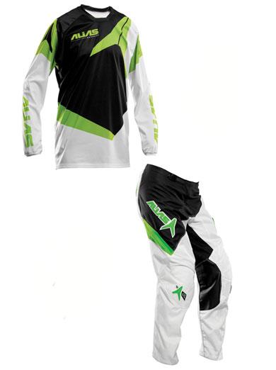 ALIAS A2 GREEN COMBO Jual jersey set alias hijau