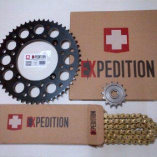 Jual gear set klx 150 merk EXPDITION