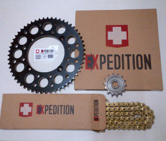 gear set Jual gear set klx 150 merk EXPDITION