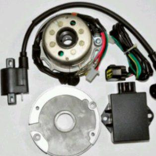 JUAL MAGNET RACING YZ product taiwan lengkap koil dan cdi untuk motor klx dan grastrack