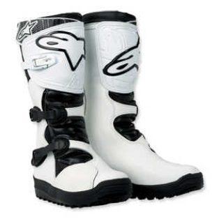 Jual sepatu ALPINE STAR non stop adventure/trial wrna htm/putih uk.8.9.10.11