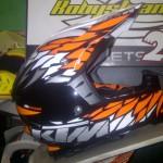 Jual helm trail ktm dynamic power parts uk XL dan L