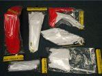 Jual plastics set crf 250 R 2014 merk acerbis