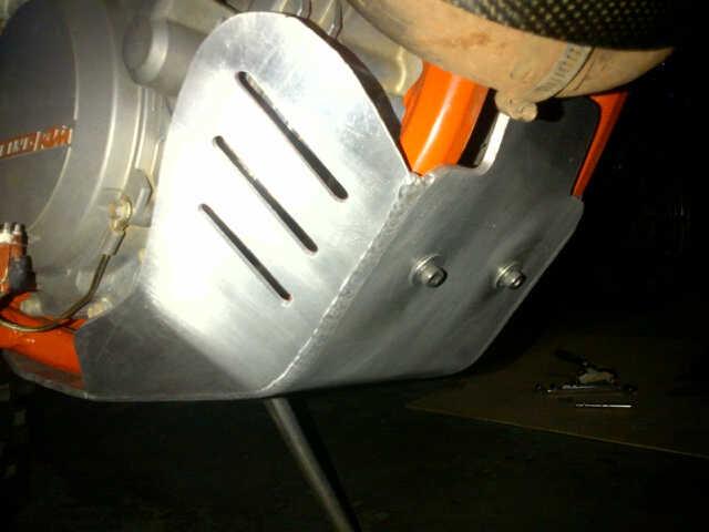 IMG 20140515  Jual skid PLATE alum excf/sxf KTM 250.350.450.500