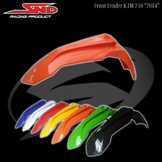 annd Jual front fender ktm 2014/spakbor depan ktm merk SND bahan plstik