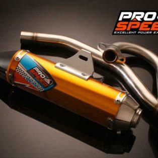 knalpot klx 150 merk PROSPEED SX..ada type 4 wrna hrga 1,4 jt