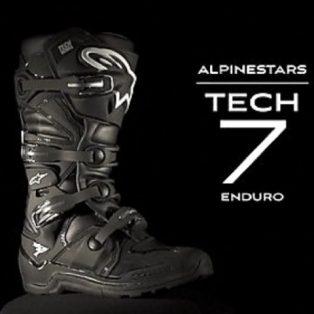 sepatu alpine star TECH 7 ENDURO wrna black uk 8,9.10.11 hrga 3.7 jt