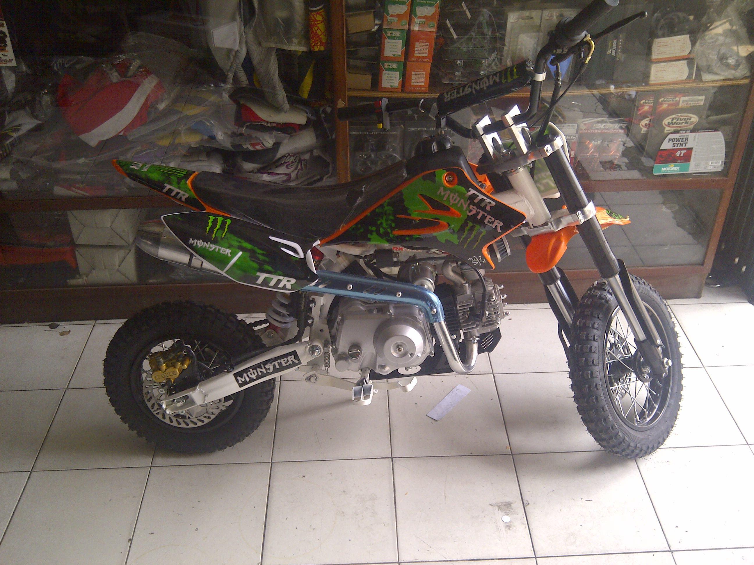 IMG 20140911 00183 mini moto ttr 110 cc 4 tak MATIC hrg 7,5 jt
