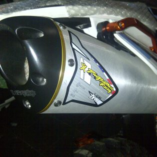 knalpot slip on ktm 250.350.450.500 merk two brother hrg 5.1 jt made in USA