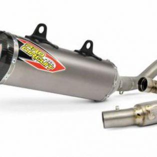 knalpot pro circuit ktm 350 full system merk pro circuit Ti5 CARBON hrga 12,5 jt mega bomb,