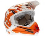 helm EVS T5 white orange hrg 1,5 jt