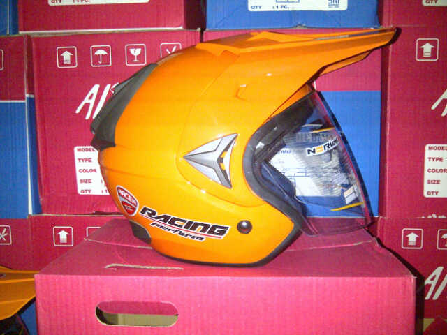 IMG 20141016 00325 helm trail adventure merk x racer/alice hrg 275 rb