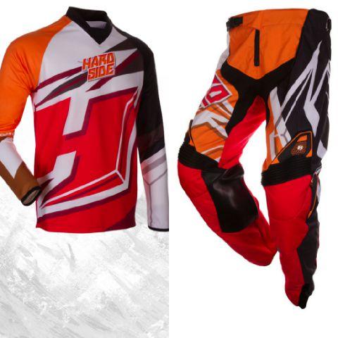 collage orange jersey set merk HARD SIDE hrga 700.000 uk 32.34.36