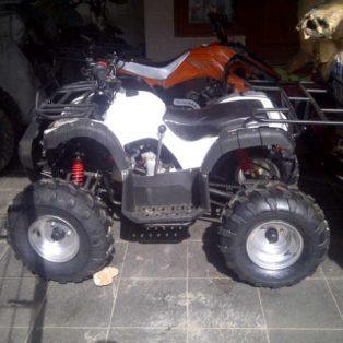 atv 125 cc merk monster ukuran ban ring 8 sistem kecepatan gigi matic hrg 12,5 jt model jeep
