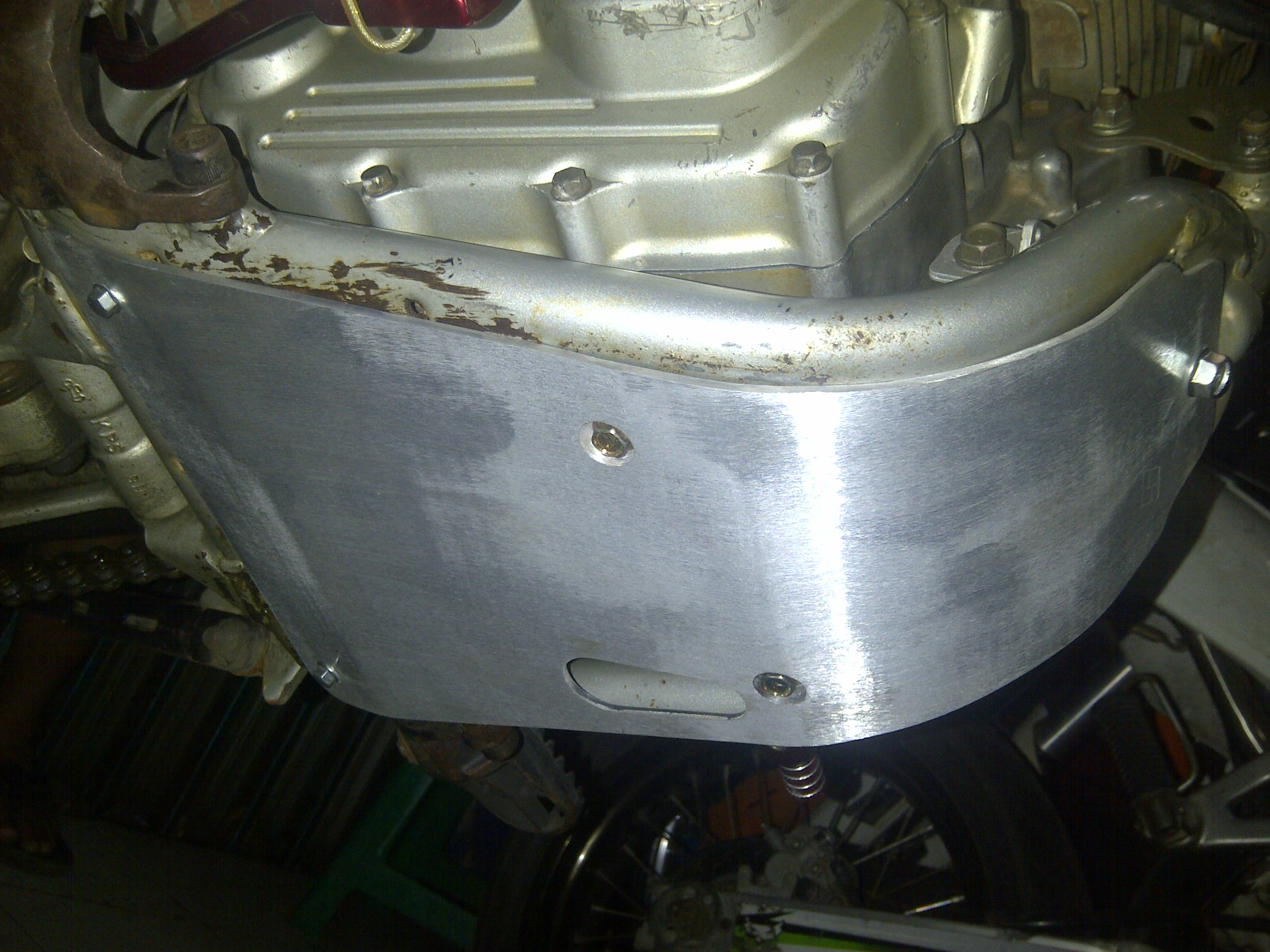 IMG 20141229 00473 engine guard crf 230 bahan almunium merk rbs hrg 405.000