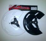 disk cover depan klx 150 merk GORDON Rp.130.000 bahan plastik lentur