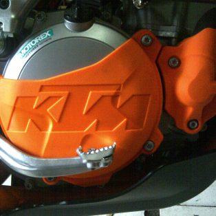 clutch kopling + radiator hoose KTM 250 six days.350 sixday Rp 550.000