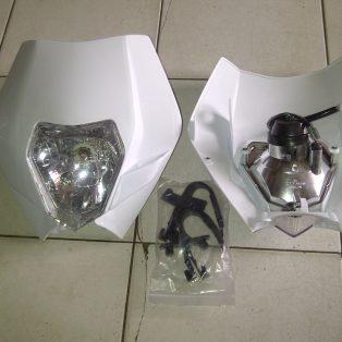 kedok lampu ktm model 2013 bukan ori Rp.350.000