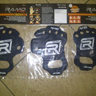 pelindung tangan/palm protectors merk RAMO pro uk.xl.L.S.M … Rp.85.000