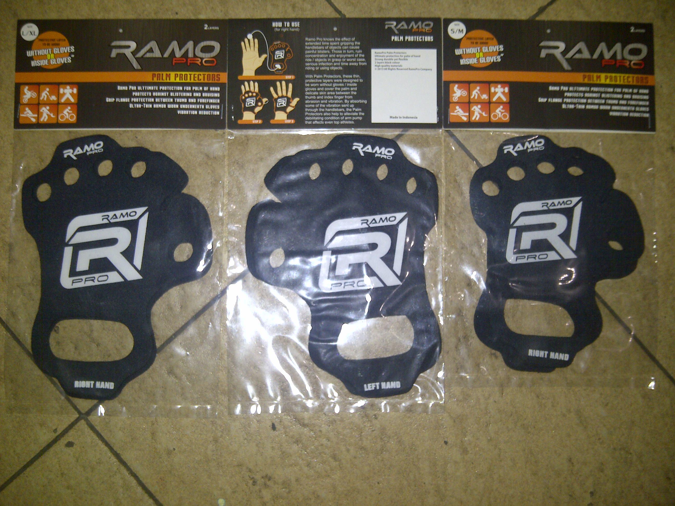 IMG 20150306 00639 pelindung tangan/palm protectors merk RAMO pro uk.xl.L.S.M ... Rp.85.000