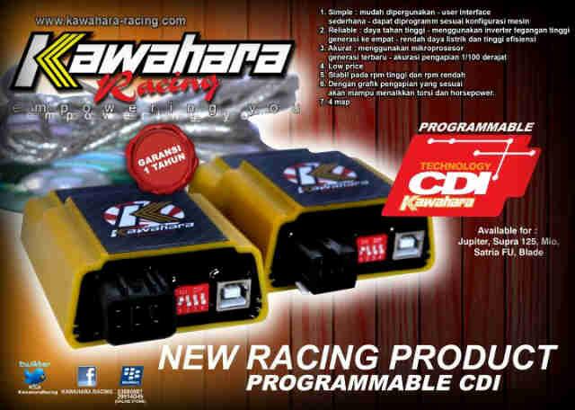 CDI ProgrammabLe 4Maping Jual CDI klx 150 mapping control merk kawahara