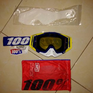 Jual Goggle race craft lindstrom mirror blue lens