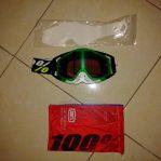 Jual Goggle race craft simbad mirror green lens