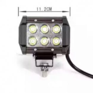 Lampu LED depan merk CR 7 anti air,anti debu,anti goncangan Rp.300,000