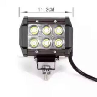 Lampu LED depan merk CR 7 anti air,anti debu,anti goncangan Rp.300,000