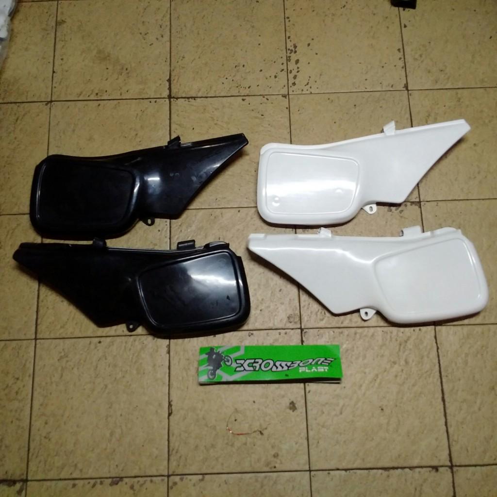 Jual Cover samping/dop suzuki TS 125 merk crosbone bahan plstik lentur