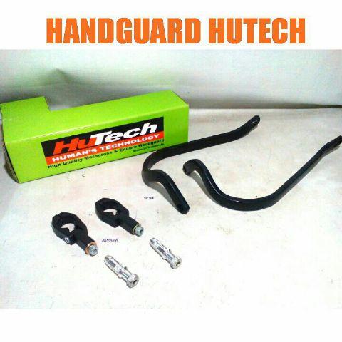 Handguard merk hutech untuk semua motor trail Rp.250,000 bahan almunium