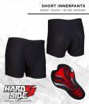 Celana dalaman SHORT innerpants/basical pants uk.S,M,L,XL,XXL merk hardside untuk adventure,offroad,sepedahan,motocros Rp.155,000