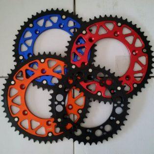Jual gear KTM,HUSQ,CRF merk ROZ ukuran 44,48,50,52 Rp.800.000