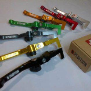 Jual Handle rem dan kopling klx 150 merk expdition Rp.330,000
