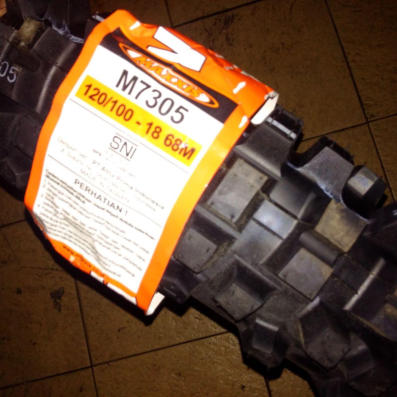 wpid wp 1461932820431 Jual BAN Trail Merk MAXXIS uk 18 M 7305 buat belakang lebar 120/100 Rp.1,150,000