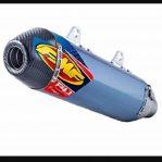 Jual KNALPOT merk FMF anodize blue Carbon F4.1 untuk KTM 250,350,450 th 07 s/d 17 dan Husq FE 250,350,450,501 th 14 s/d 17 Rp.9,000,000