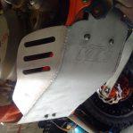 Jual Engine guard/skid plate KTM/HUSQ 2stroke 200,250,300CC Rp.1,150,000 bahan aluminium garansi seumur hidup