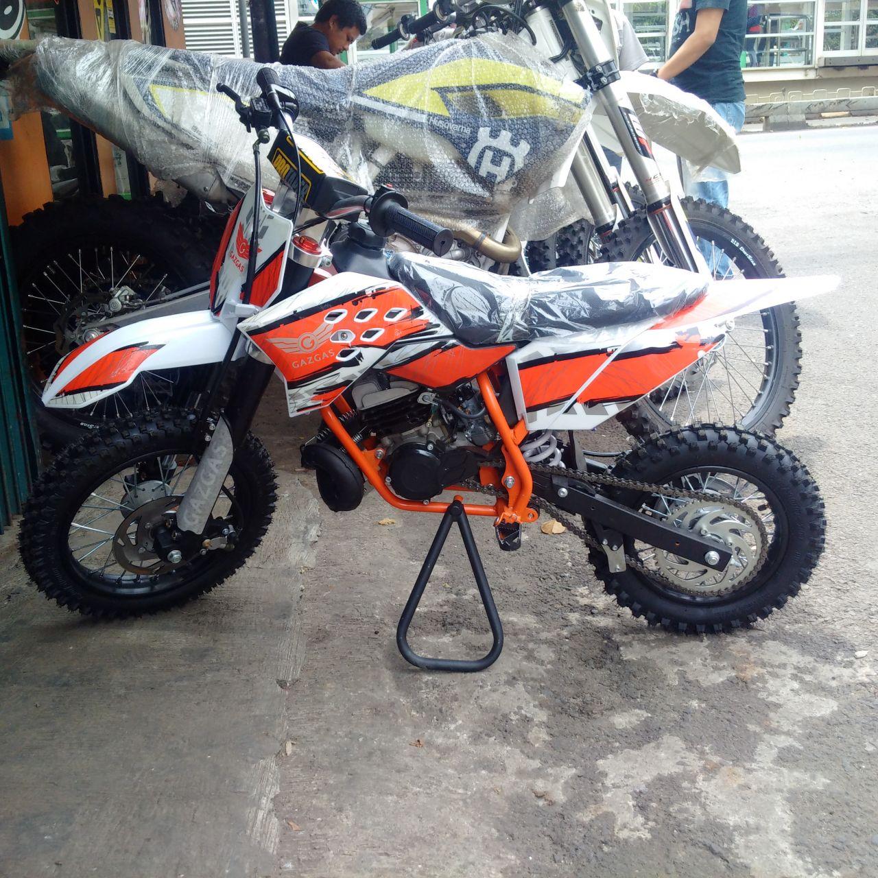 Jual Trail Mini 50cc 2tak Matic Merk Gazgas Rp 8 400 000 Kondisi Baru
