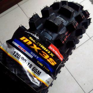 JualBAN DUNLOP MX3S ukuran 120/90- 18 Rp.1.331.000