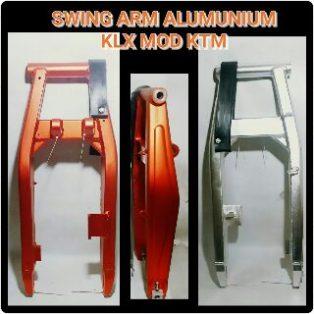 JualSwingarm klx 150 model ktm bahan almunium harga Rp.1,400,000 hanya 2 warna