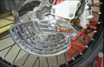 Jual Front brake rotor guard ktm 2012 s/d 2018 husq 2014 s/d 2018 merk enduro engineering Rp.2,500,000 bahan titanium made In USA