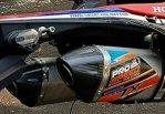JualKnalpot crf 250 rally double mufler merk pro speed carbon