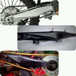 JualSwing arm klx 150 model ktm bahan besi Rp.575.000 ukuran ring 18
