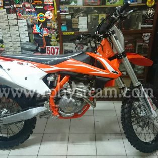 Jual motor trailKtm 250 sxf tahun 2018 new Rp.137.000.000 nego wa 081513325316